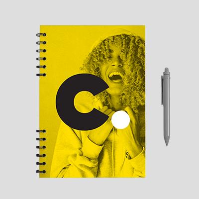 produção gráfica, caderneta corporativa
