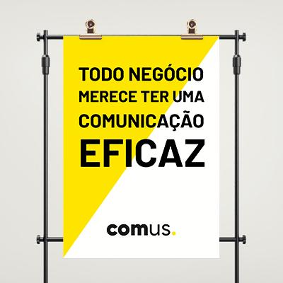 produção de cartaz e poster
