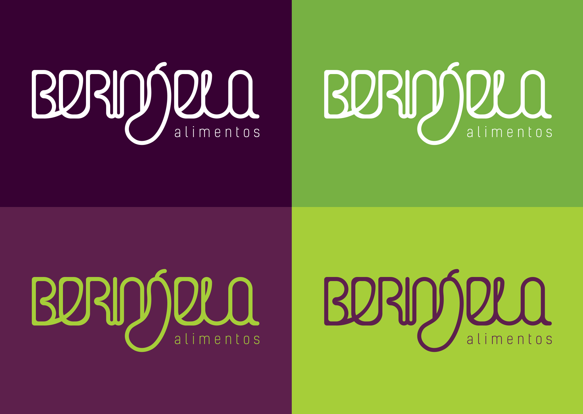 Logotipo Berinjela