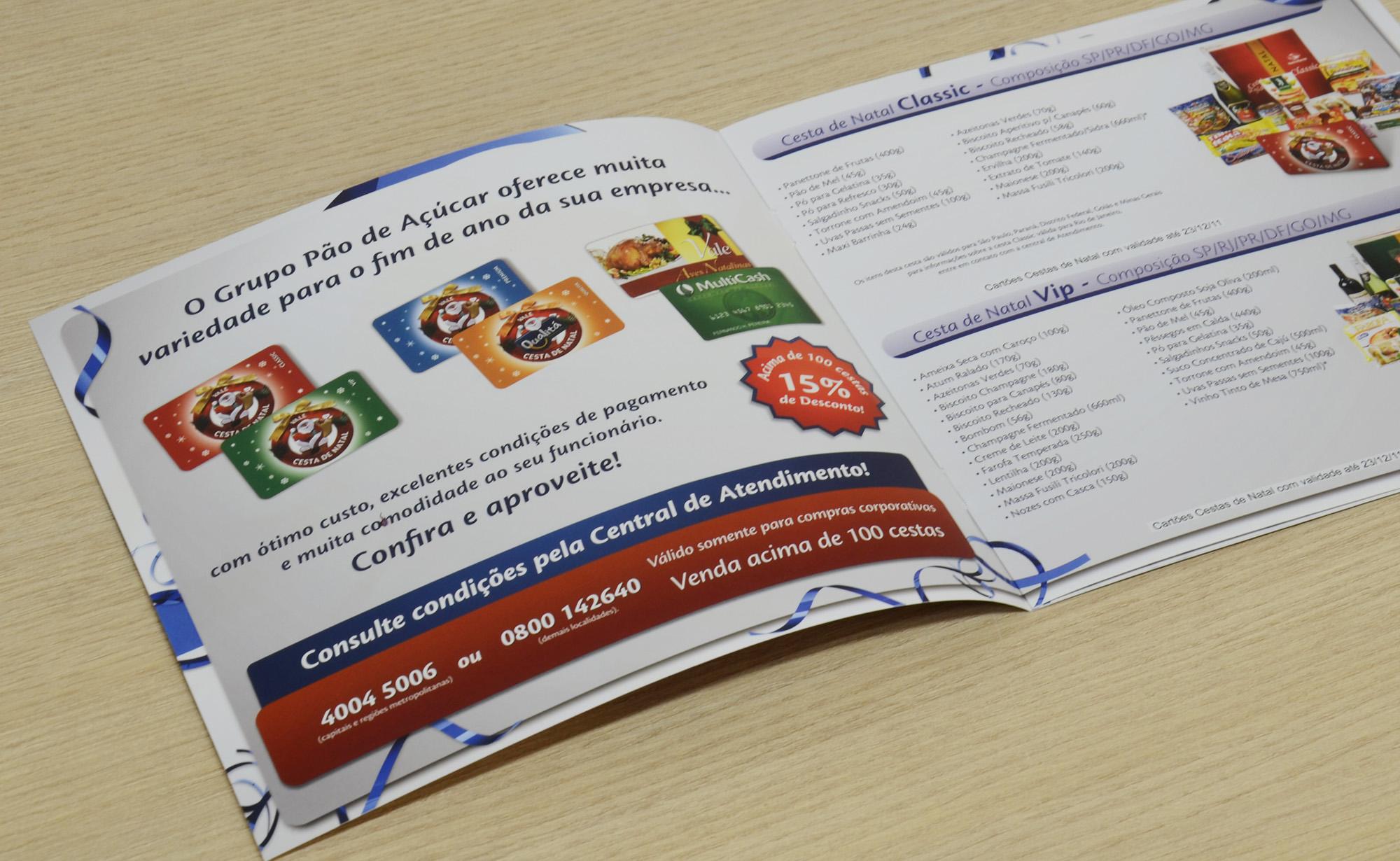 Folder Comercial de Natal
