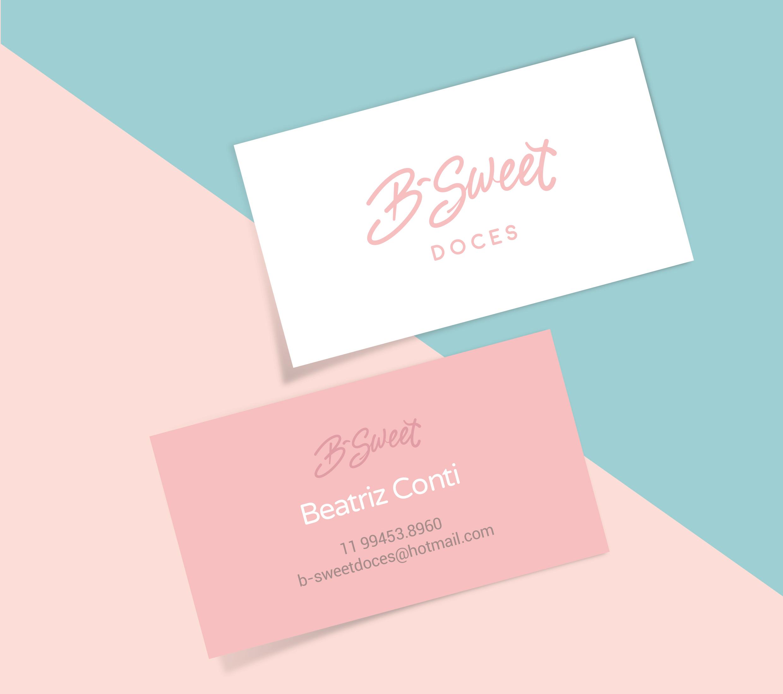 Logotipo e Identidade Visual B-sweet