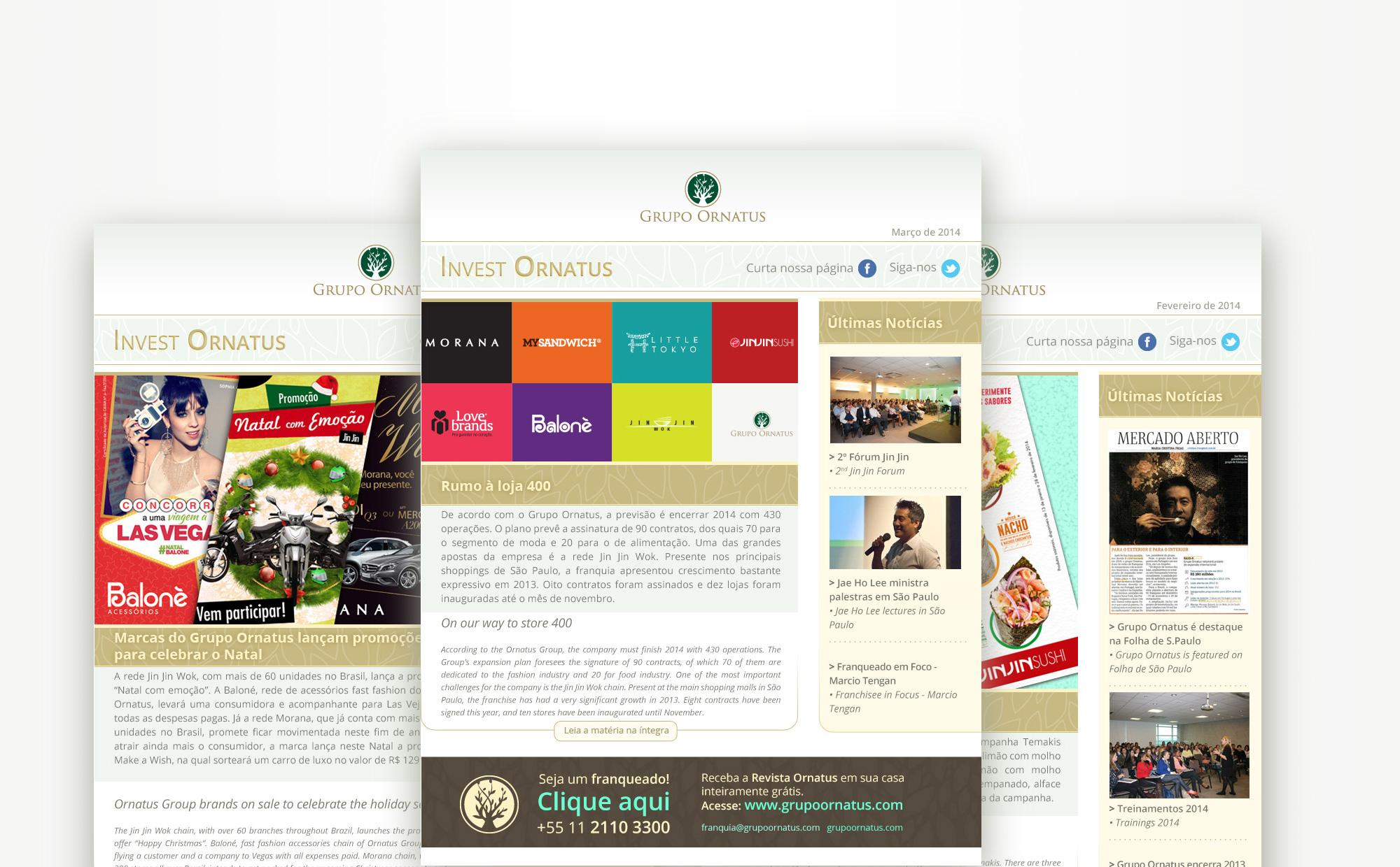 Newsletter Grupo Ornatus